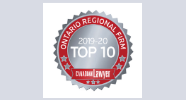 Pallett Valo Recognized as a Top 10 Ontario Regional Law Firm in 2019