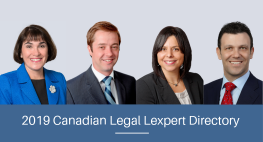 Four Pallett Valo Lawyers Recognized in the 2019 Canadian Legal Lexpert Directory